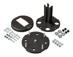 PFF 7965 Floor / ceiling mounting plate adjustable