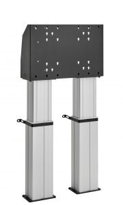 FMDE6064 Motorized floor stand, fixed to the floor 60 cm