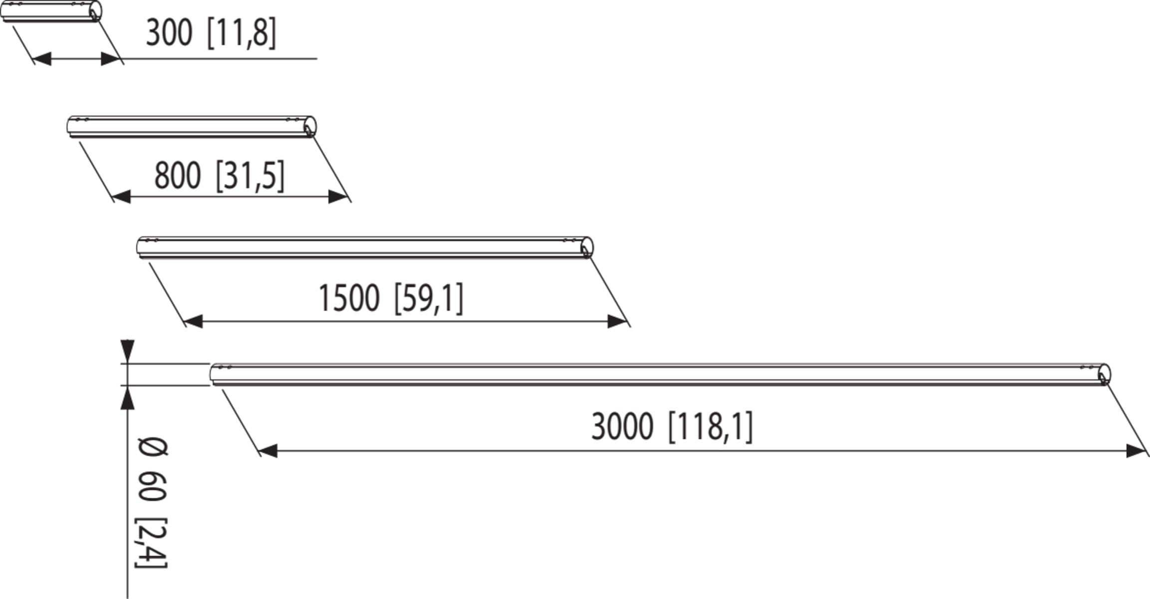 Default product dimensions