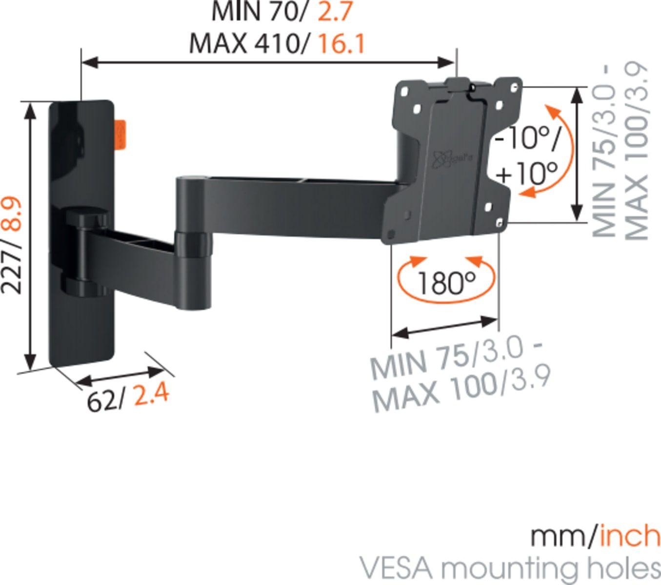 Default product dimensions