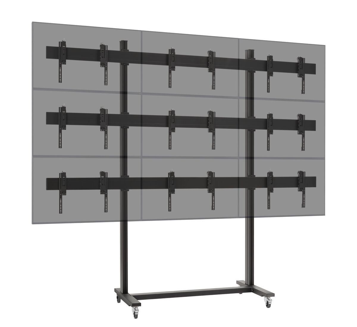 Vogel's TVW3347 Video wall trolley 3x3 - Application