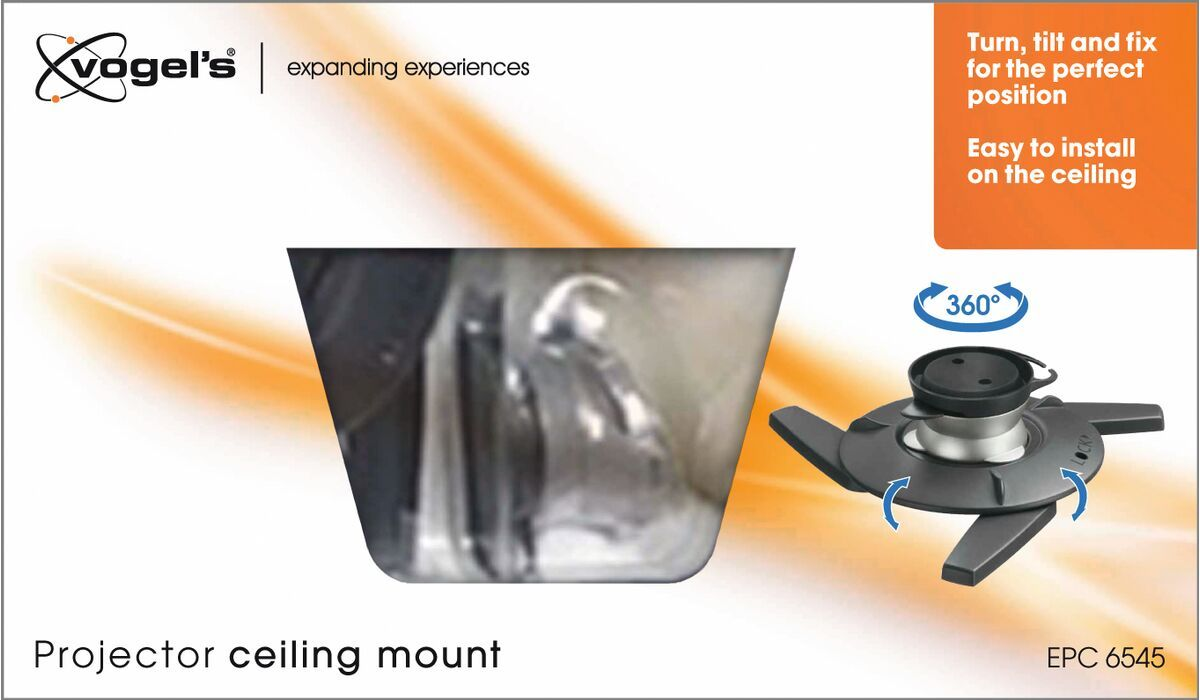 Vogel's EPC 6545 Projector Ceiling Mount - Max. weight load: 10 - Max. weight load: Packaging front