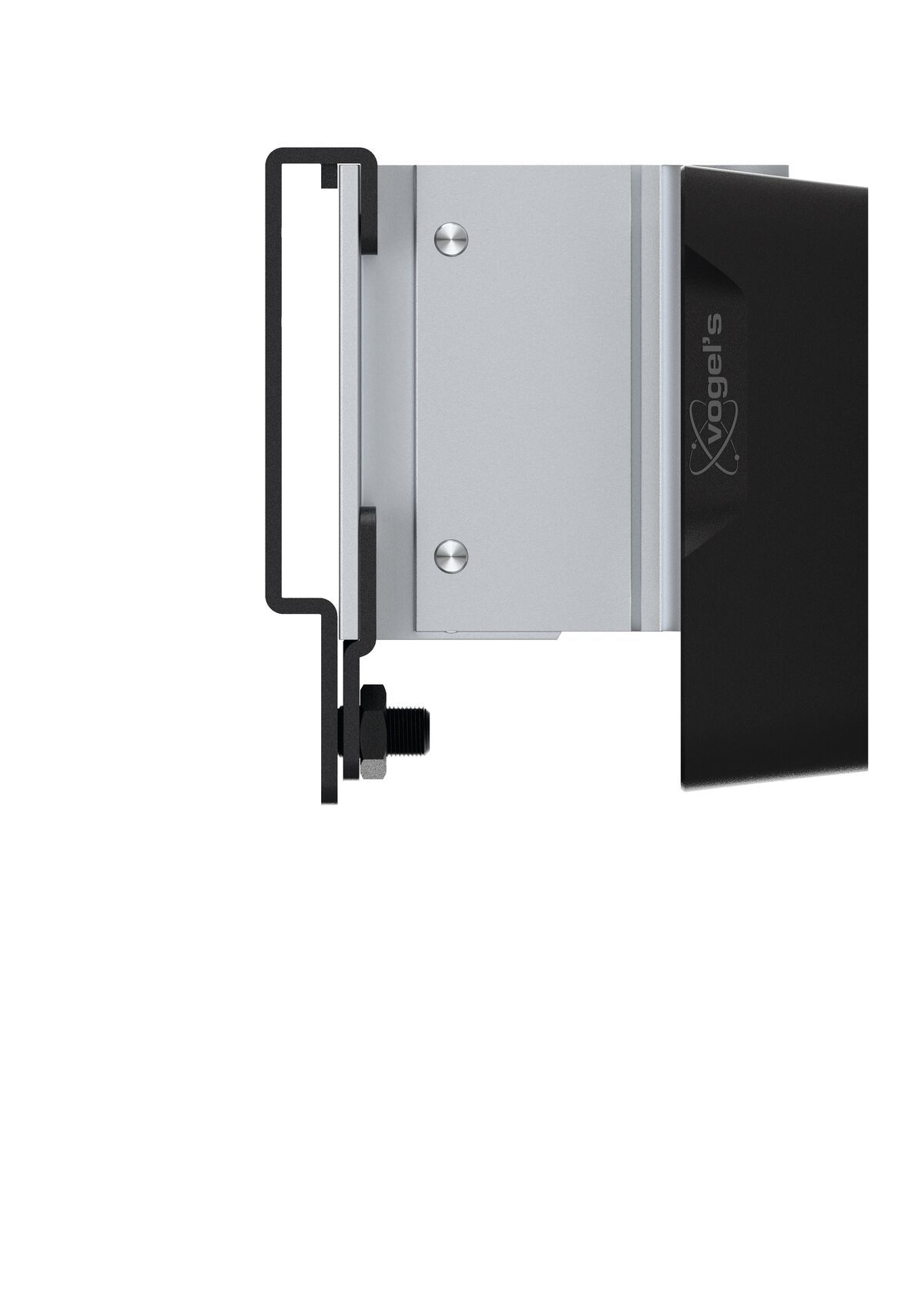 Vogel's SOUND 3200 Speaker Wall Mount (black) - Ideally suited for: Universal - Max. weight load: 5 kg - Side view