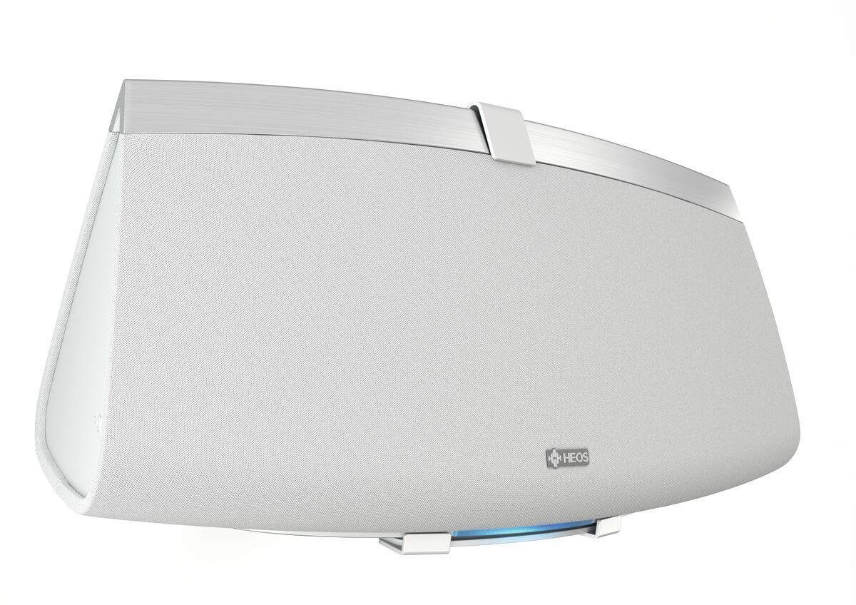 Vogel's SOUND 3205 Support enceinte (blanc) - Convient parfaitement pour : Denon HEOS 5, Denon HEOS 7, , Sonos Five, Universel Denon HEOS 5, Denon HEOS 7, Sonos PLAY:5 (Gen 2), Sonos Five, Universal - Charge maximale : 6.5 kg - Application