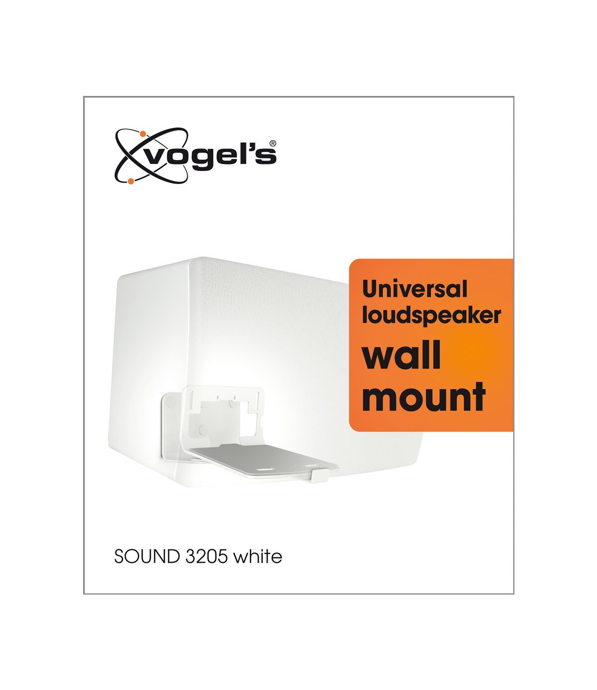 Vogel's SOUND 3205 Speaker Wall Mount (white) - Ideally suited for: Denon HEOS 5