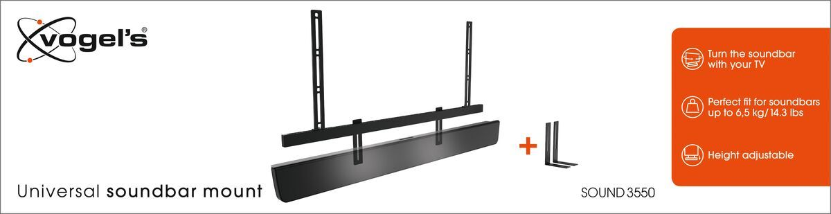 Vogel's SOUND 3550 Sound Bar Mount - Packaging front