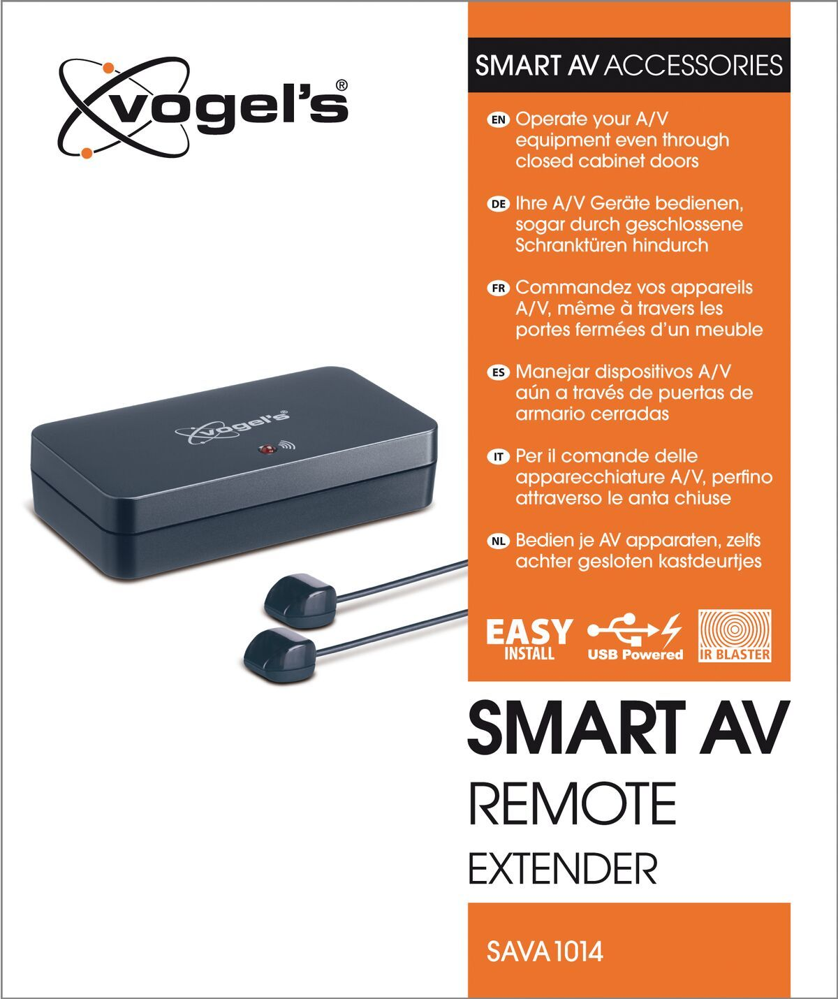 Vogel's SAVA 1014 Smart AV remote extender - Packaging front