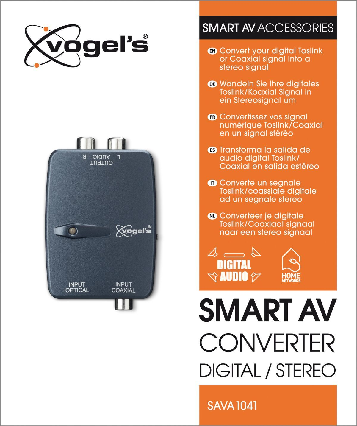 Vogel's SAVA 1041 Smart AV converter digital / stereo - Packaging front