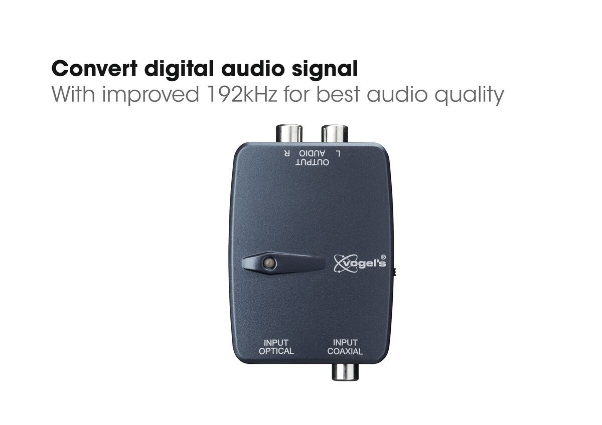 Vogel's SAVA 1041 - Intelligenter AV-Konverter Digital / Stereo - USP