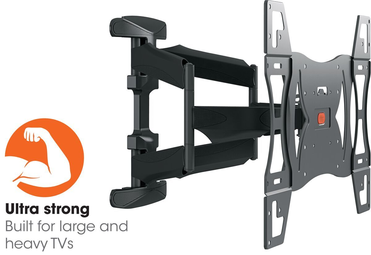 Vogel's BASE 45 L Full-Motion TV Wall Mount - Suitable for 40 up to 82 inch TVs - Full motion (up to 180°) - Tilt up to 15° - Promo