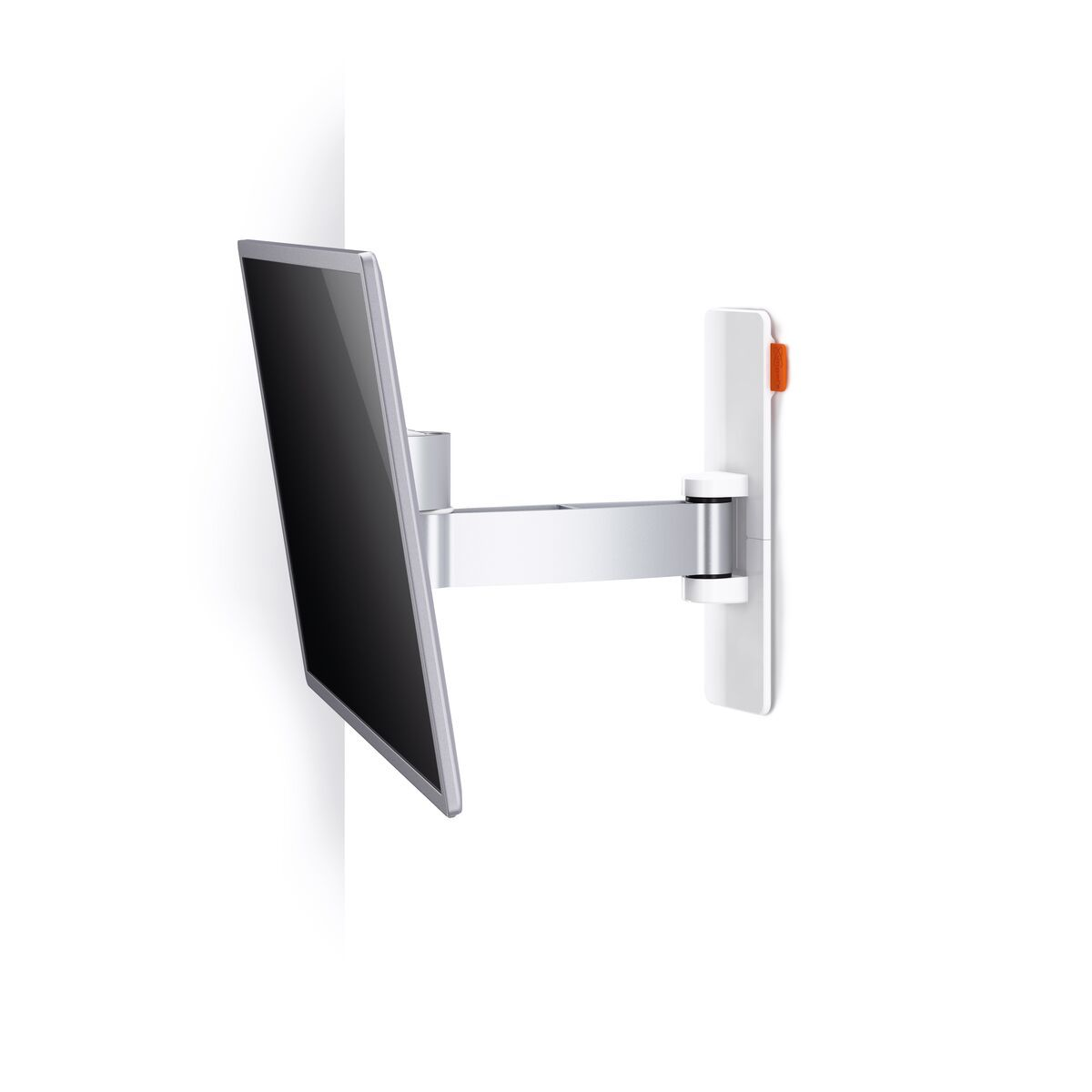 Vogel's WALL 2025 Full-Motion TV Wall Mount (white) - Suitable for 17 up to 26 inch TVs - Motion (up to 120°) - Tilt -10°/+10° - Detail