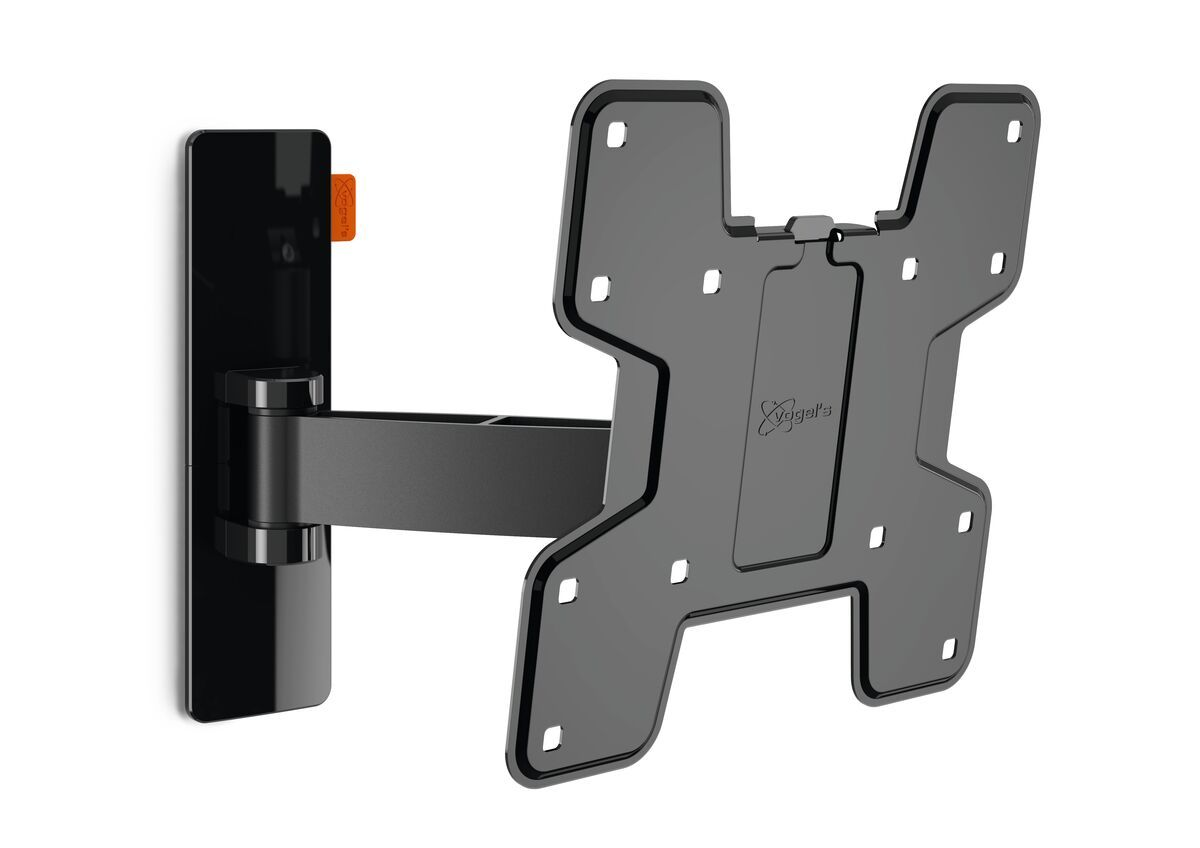 Vogel's WALL 2125 Full-Motion TV Wall Mount (black) - Suitable for 19 up to 40 inch TVs - Motion (up to 120°) - Tilt -10°/+10° - Product