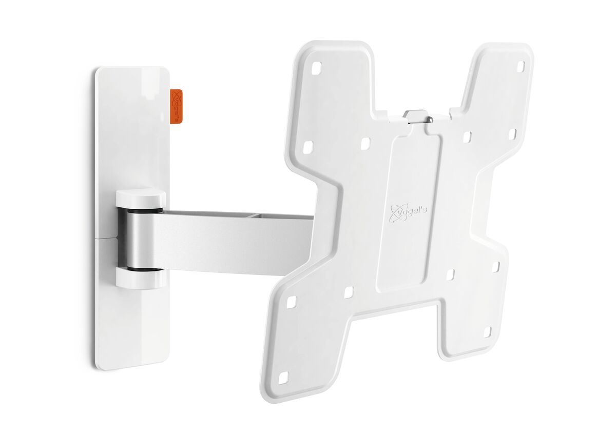 Vogel's WALL 2125 Full-Motion TV Wall Mount (white) - Suitable for 19 up to 40 inch TVs - Motion (up to 120°) - Tilt -10°/+10° - Product