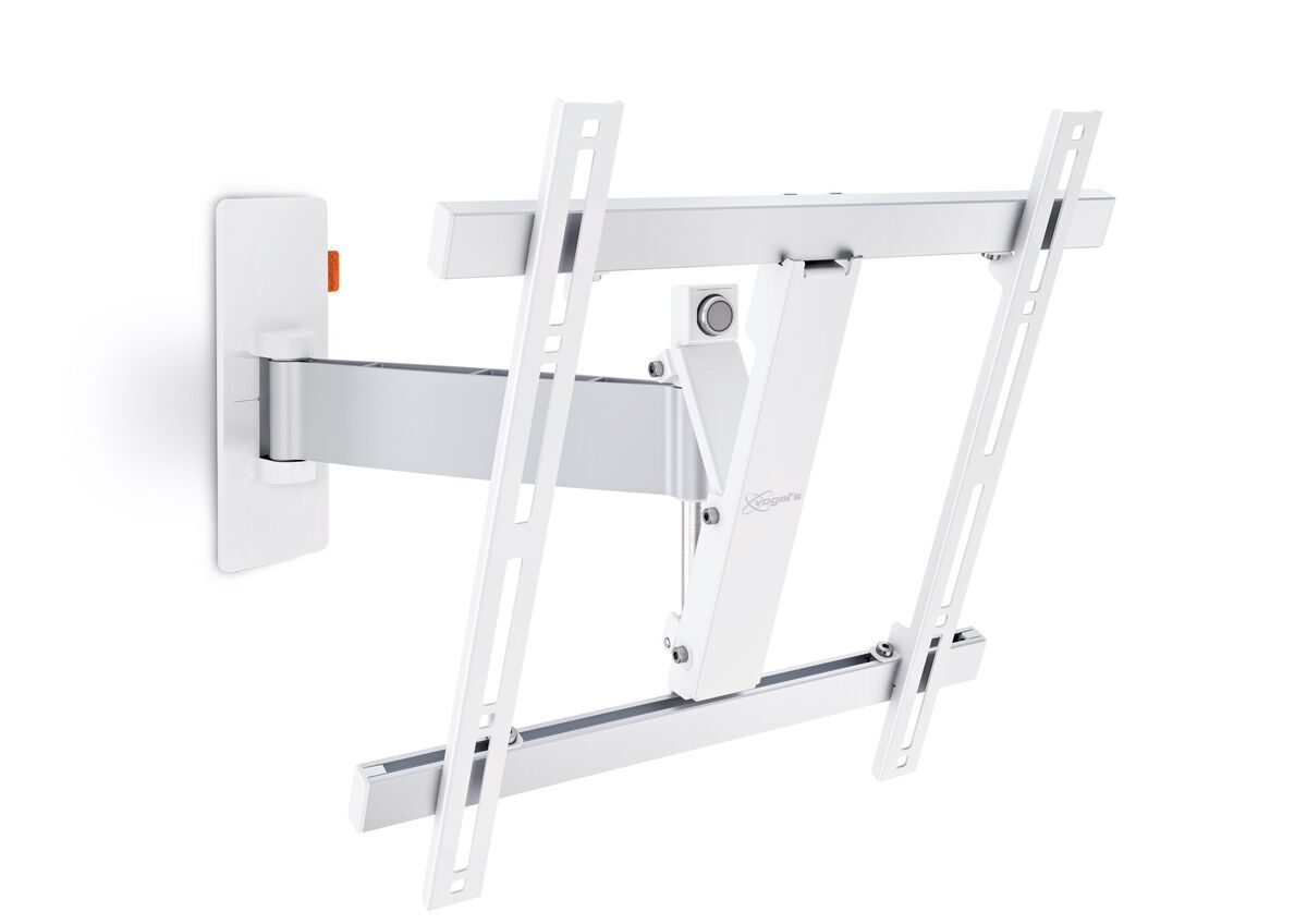Vogel's WALL 2225 Full-Motion TV Wall Mount (white) - Suitable for 32 up to 55 inch TVs - Motion (up to 120°) - Tilt up to 20° - Product