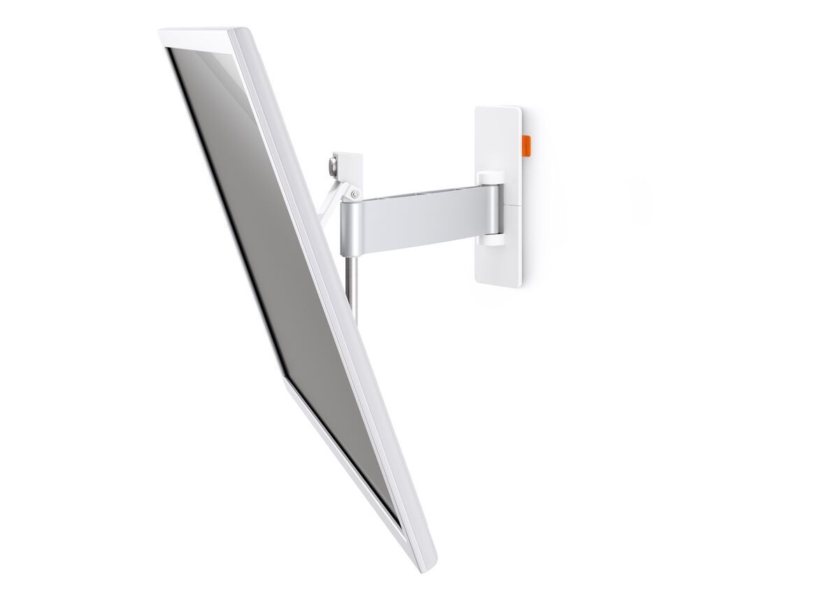 Vogel's WALL 2325 Full-Motion TV Wall Mount (white) - Suitable for Motion (up to 120°) - Suitable for Tilt up to 20° - Suitable for Detail