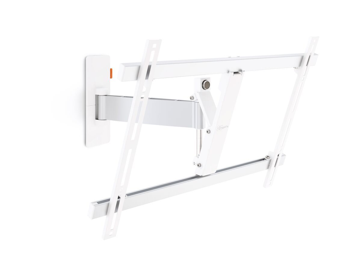 Vogel's WALL 2325 Full-Motion TV Wall Mount (white) - Suitable for 40 up to 65 inch TVs - Motion (up to 120°) - Tilt up to 20° - Product