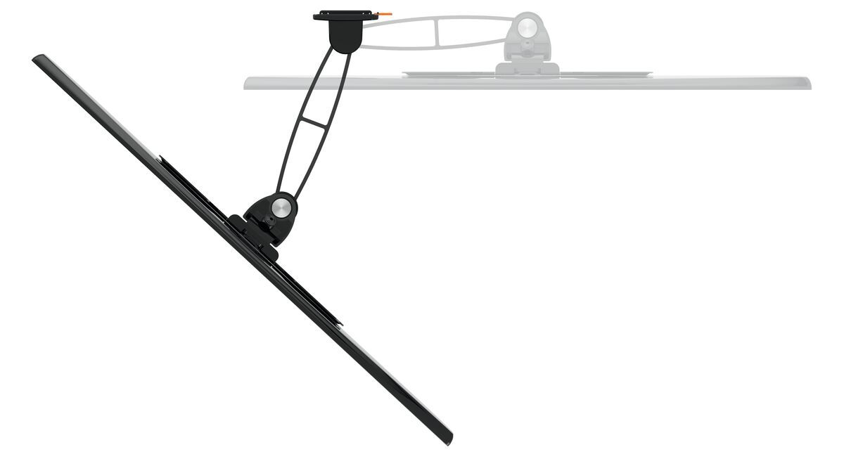 Vogel's WALL 3125 Full-Motion TV Wall Mount - Suitable for 19 up to 43 inch TVs - Motion (up to 120°) - Tilt -10°/+10° - Top view