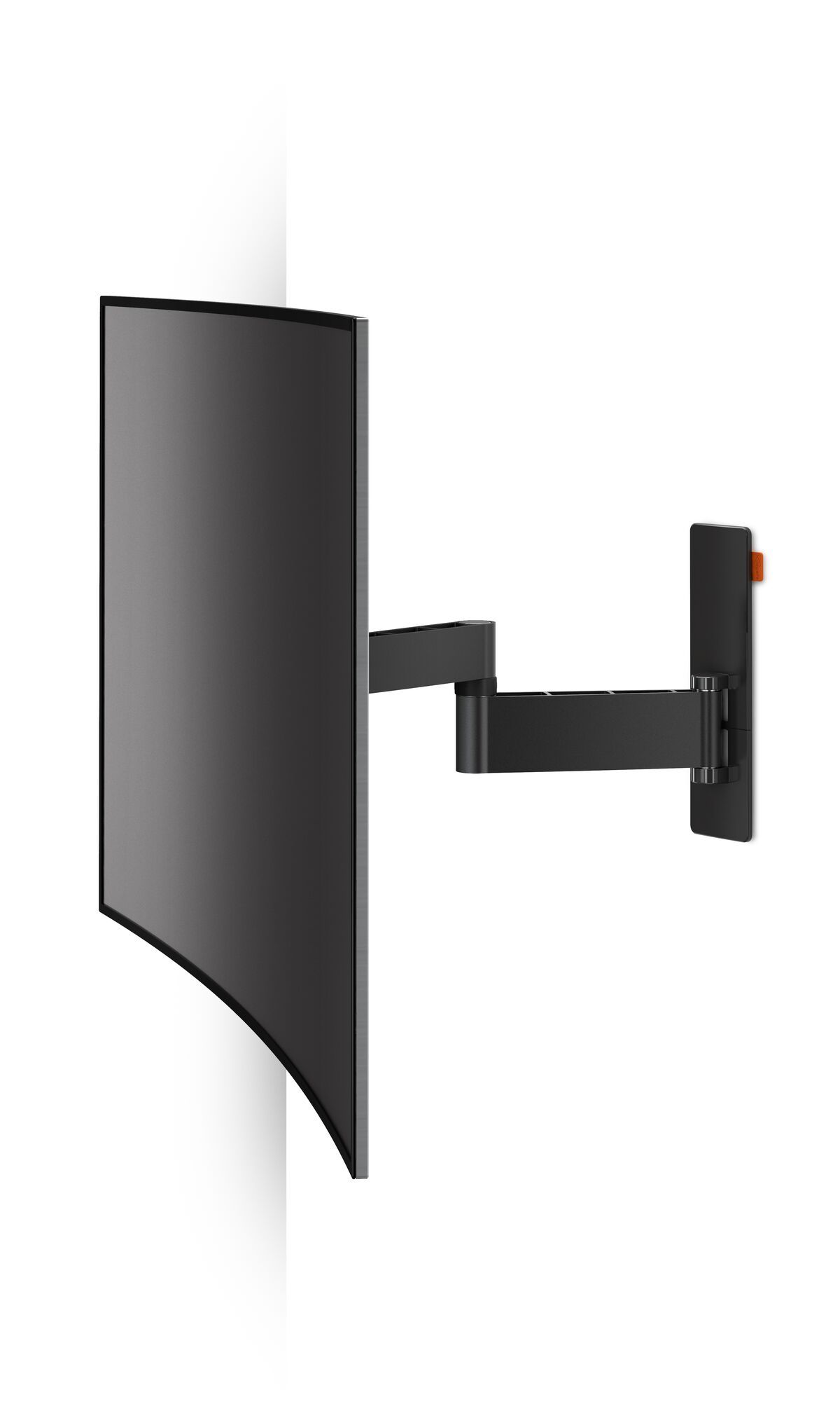 Vogel's WALL 2245 Full-Motion TV Wall Mount (black) - Velegnet til tv'er fra 32 til 55 tommer - Op til 180° - Vip op til 20° - Application