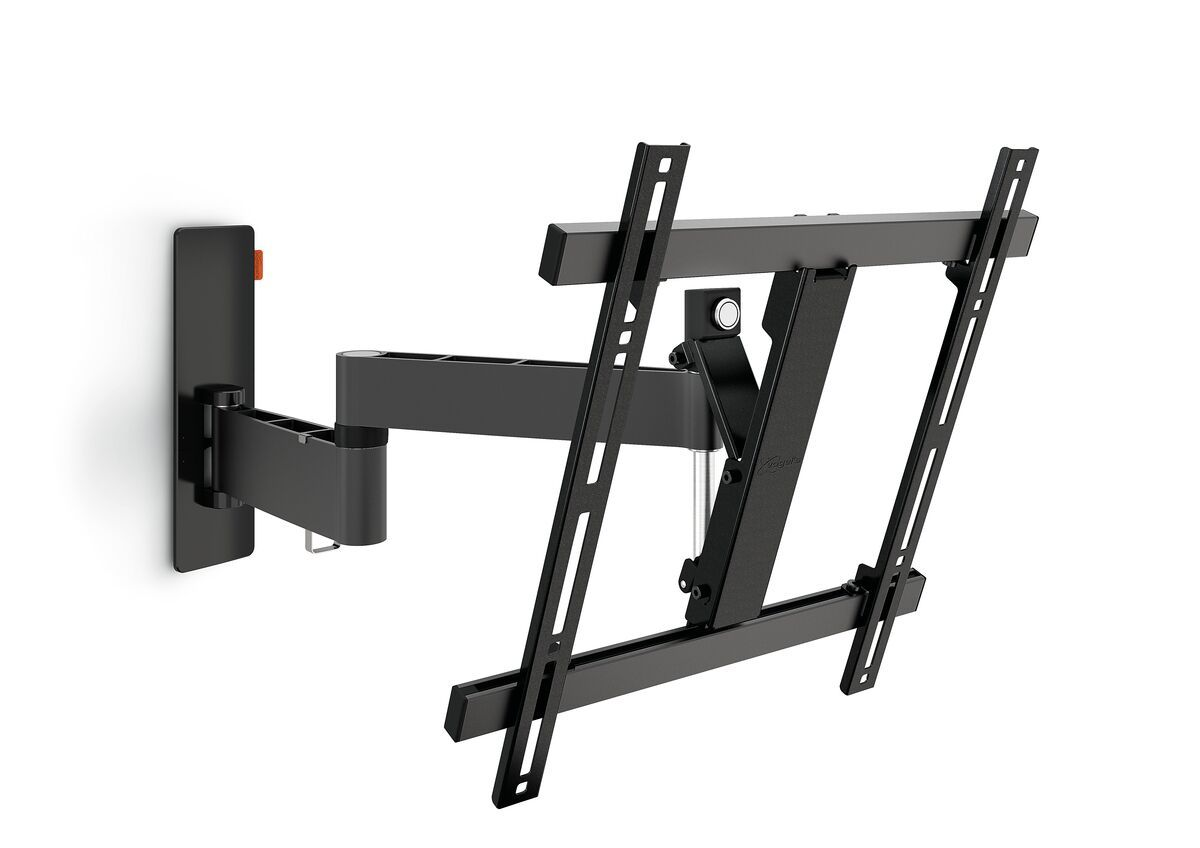 Vogel's WALL 2245 Full-Motion TV Wall Mount (black) - Suitable for 32 up to 55 inch TVs - Up to 180° - Tilt up to 20° - Product
