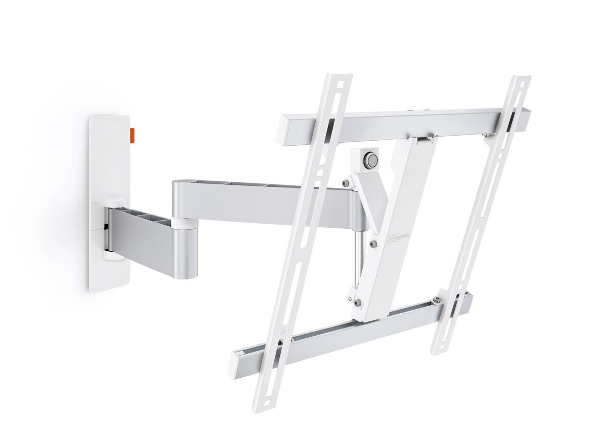 Vogel's WALL 2245 Full-Motion TV Wall Mount (white) - Suitable for Up to 180° - Suitable for Tilt up to 20° - Suitable for Product