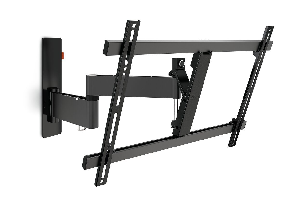 Vogel's WALL 2345 Full-Motion TV Wall Mount (black) - Suitable for 40 up to 65 inch TVs - Full motion (up to 180°) - Tilt up to 20° - Product