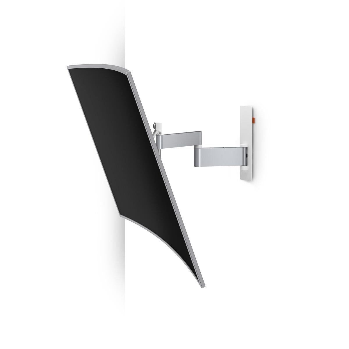 Vogel's WALL 2345 Full-Motion TV Wall Mount (white) - Suitable for 40 up to 65 inch TVs - Full motion (up to 180°) - Tilt up to 20° - Application