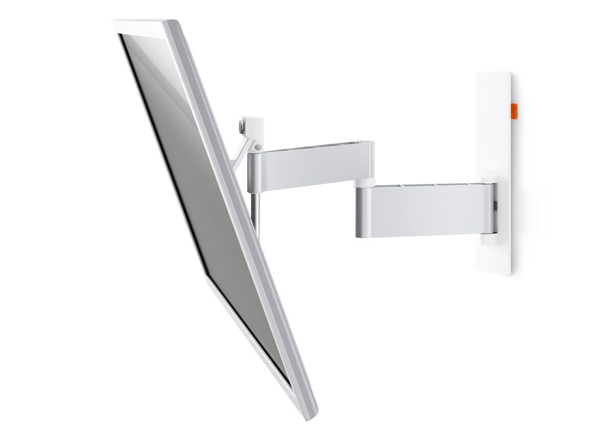 Vogel's WALL 2345 Full-Motion TV Wall Mount (white) - Suitable for Full motion (up to 180°) - Suitable for Tilt up to 20° - Suitable for White wall