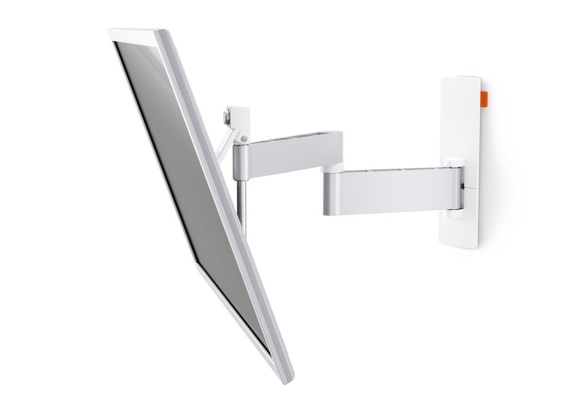 Vogel's WALL 3245 Full-Motion TV Wall Mount (white) - Suitable for 32 up to 55 inch TVs - Full motion (up to 180°) - Tilt up to 20° - Application