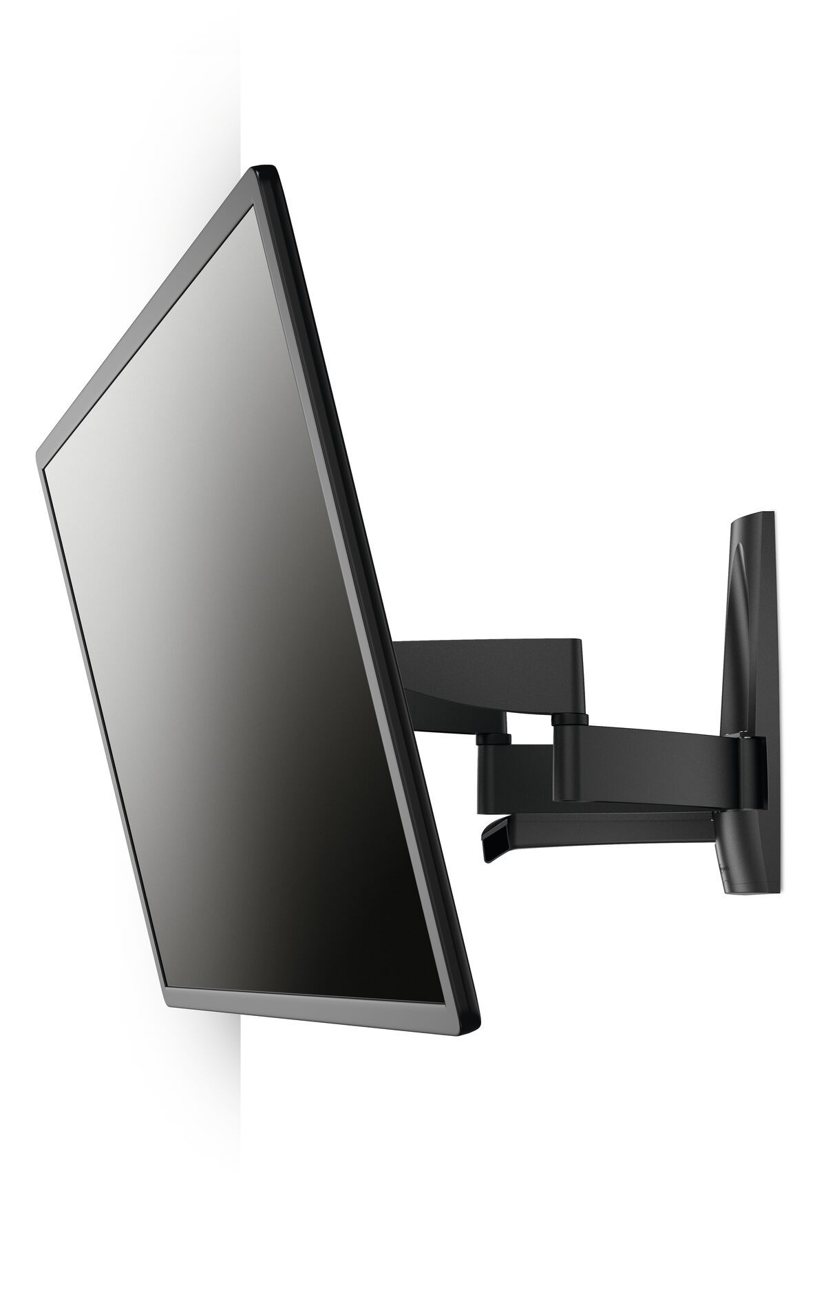 Vogel's WALL 2350 Full-Motion TV Wall Mount - Suitable for 40 up to 65 inch TVs - Motion (up to 120°) - Tilt up to 15° - White wall