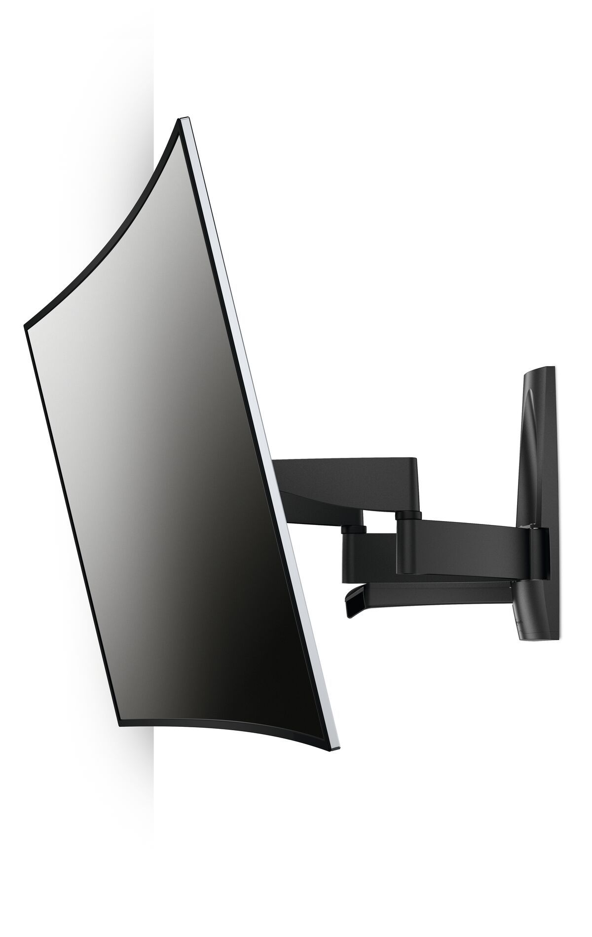 Vogel's WALL 2450 Full-Motion TV Wall Mount - Suitable for 55 up to 100 inch TVs - Motion (up to 120°) - Tilt up to 15° - White wall