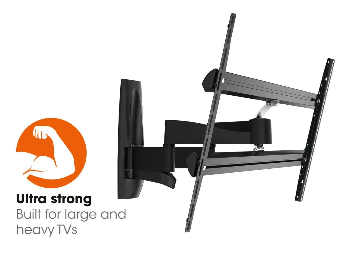 Vogel's WALL 3450 Full-Motion TV Wall Mount - Suitable for 55 up to 100 inch TVs - Forward and turning motion (up to 120°) - Tilt up to 15° - Promo