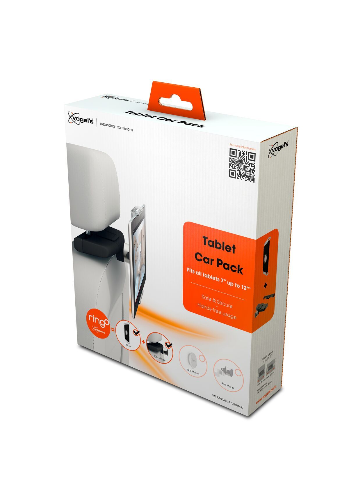 Vogel's TMS 1020 Tablet Car Pack - Pack shot 3D