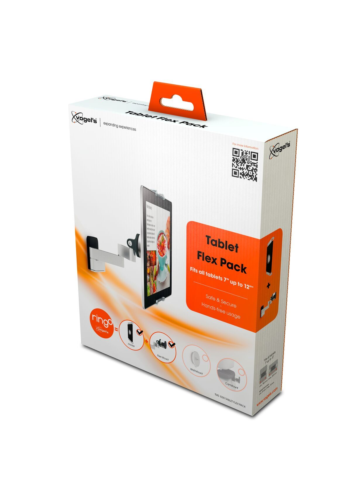 Vogel's TMS 1030 Tablet Flex Pack - Pack shot 3D