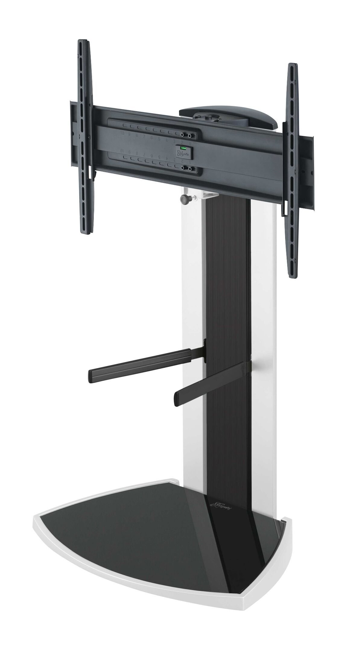 Vogel's EFF 8340 TV Floor Stand (white) - Suitable for 40 up to 65 inch TVs up to 45 kg - Product