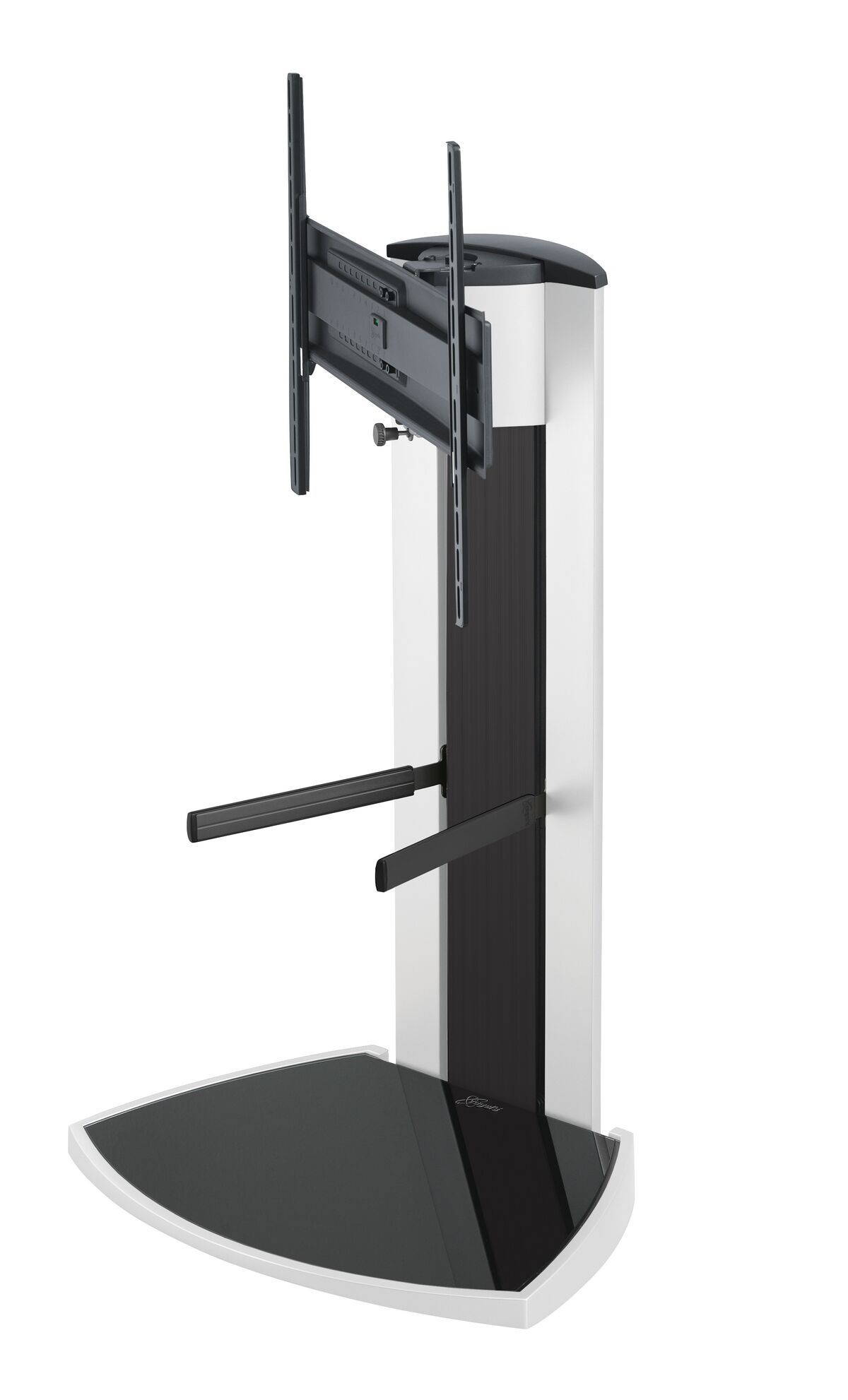 Vogel's EFF 8340 TV Floor Stand (white) - Suitable for 40 up to 65 inch TVs up to 45 kg - Side view