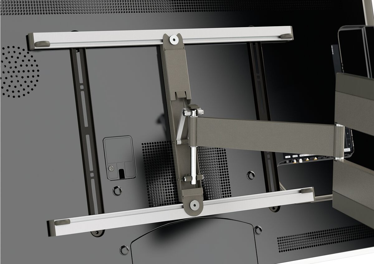 Vogel's THIN 345 UltraThin Full-Motion TV Wall Mount - Suitable for 40 up to 65 inch TVs - Full motion (up to 180°) - Tilt up to 20° - Application