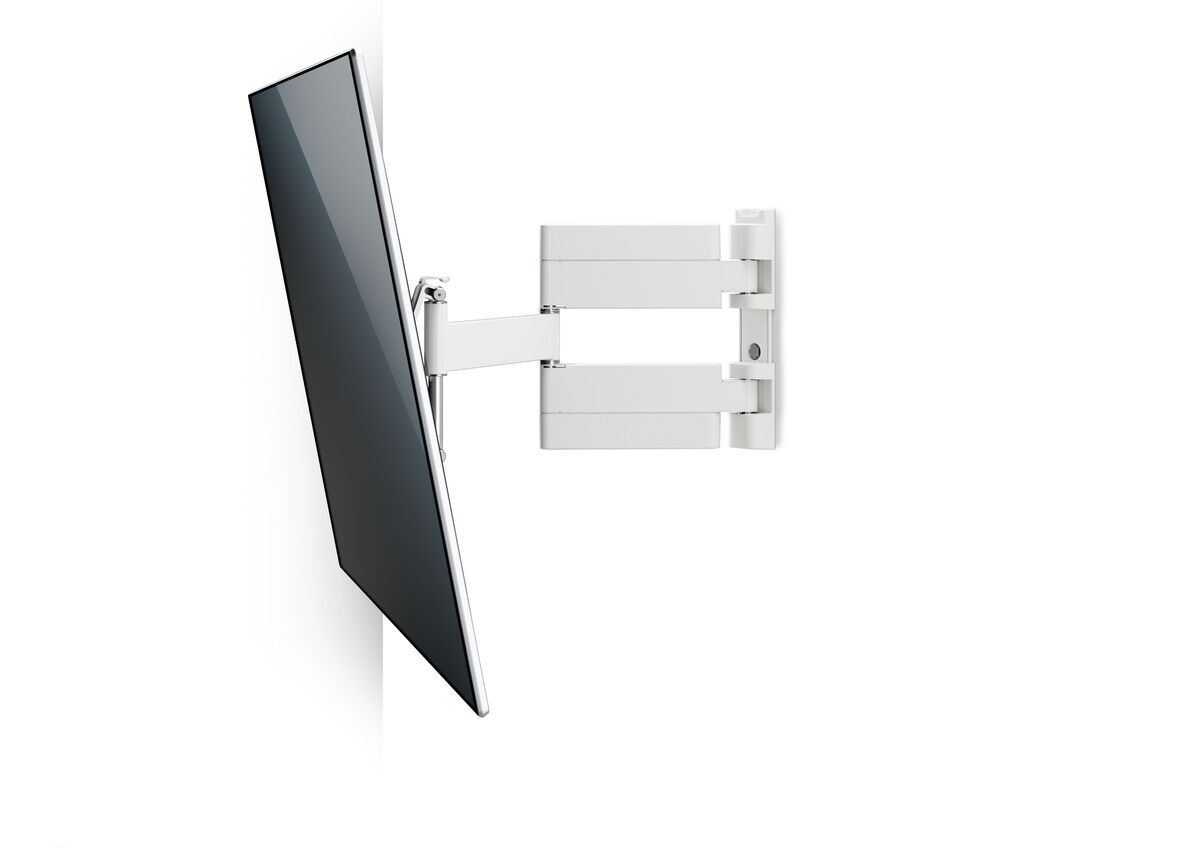 Vogel's THIN 445 ExtraThin Full-Motion TV Wall Mount (white) - Suitable for 26 up to 55 inch TVs - Full motion (up to 180°) - Tilt up to 20° - White wall