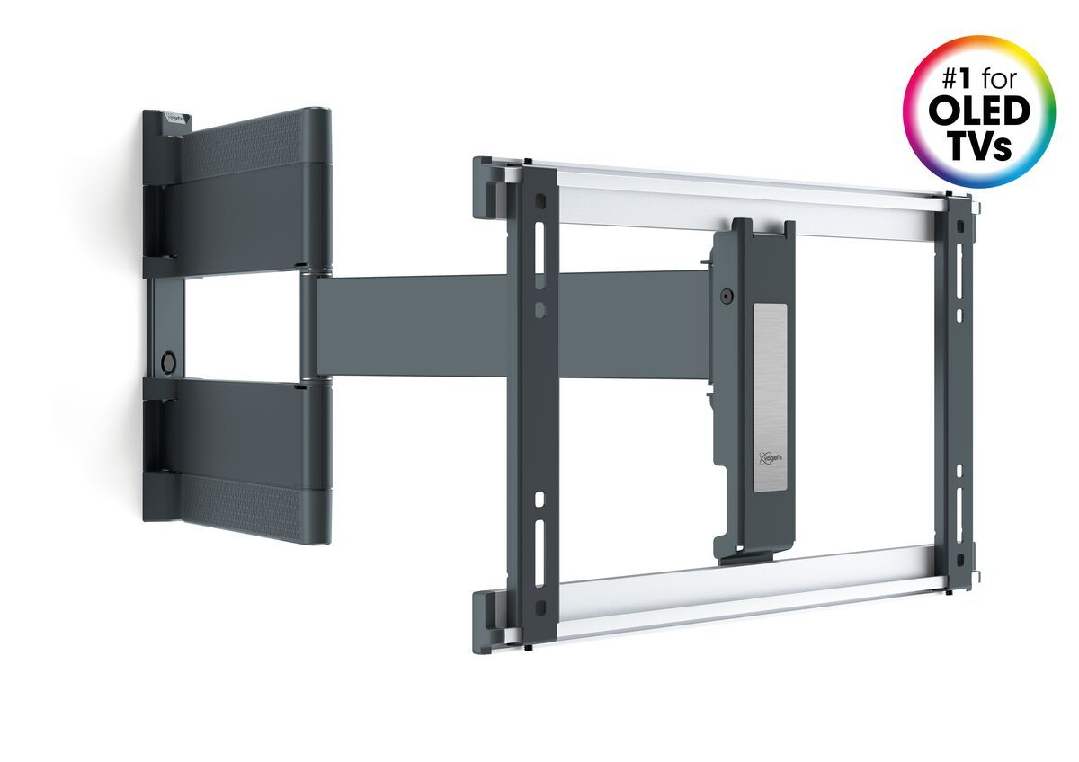Vogel's THIN 546 ExtraThin Full-Motion TV Wall Mount for OLED TVs (black) - Suitable for 40 up to 65 inch TVs - Full motion (up to 180°) - - Product