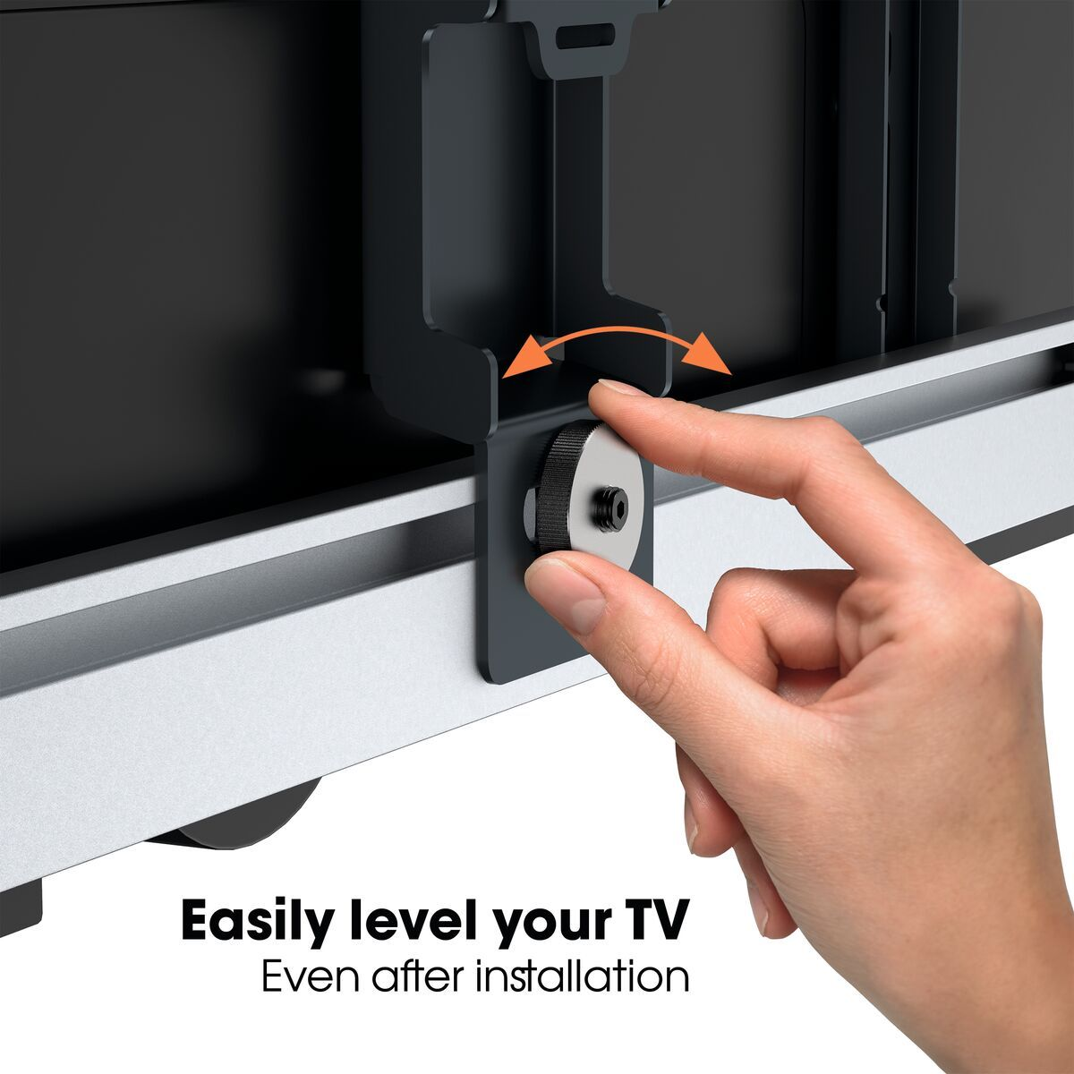 Vogel's THIN 546 ExtraThin Full-Motion TV Wall Mount for OLED TVs (black) - Suitable for 40 up to 65 inch TVs - Full motion (up to 180°) - - USP