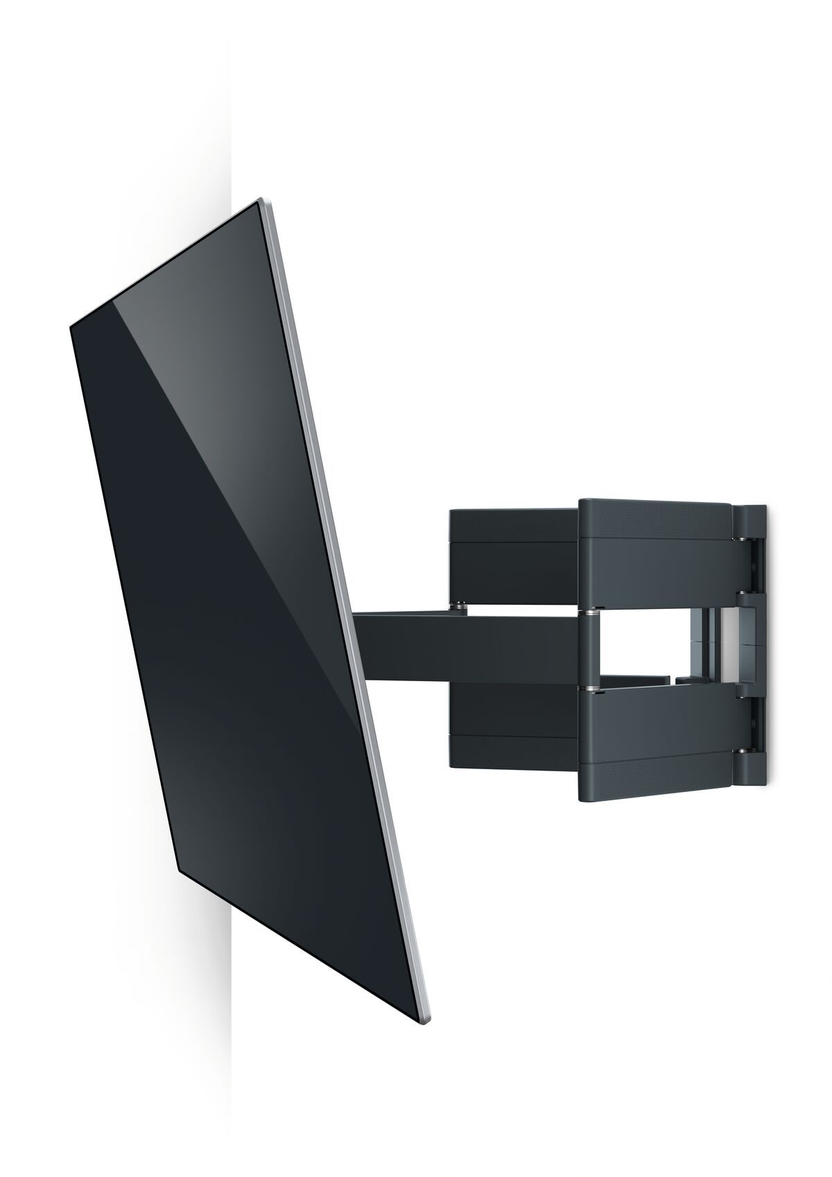 Vogel's THIN 550 ExtraThin Full-Motion TV Wall Mount - Suitable for 40 up to 100 inch TVs - Forward and turning motion (up to 120°) - Tilt up to 20° - White wall