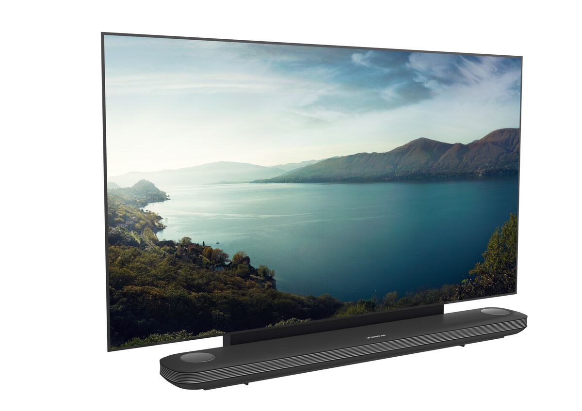 Vogel's NEXT 7505 Supporto a parete piatto per TV LG Signature - Adatto esclusivamente per i televisori OLED LG Signature W7, W8 e W9 - Application