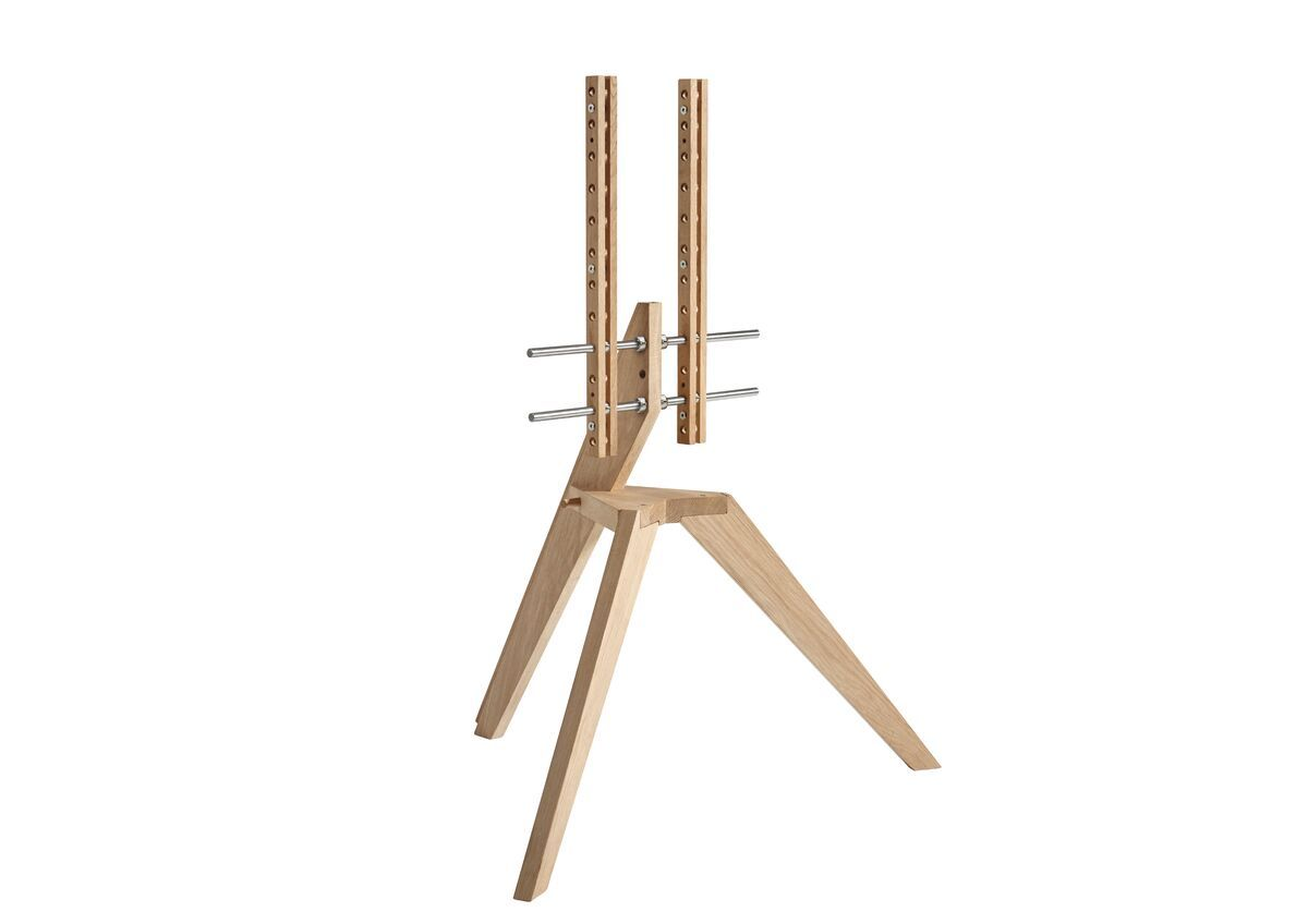 Vogel's NEXT OP1 TV Floor Stand - Suitable for 46 up to 70 inch TVs up to 40 kg - Scandinavian design from Denmark
