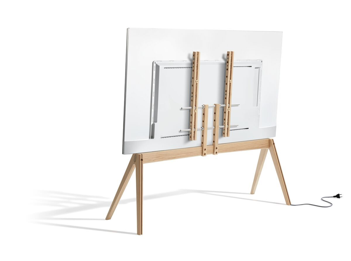 Vogel's NEXT OP2 TV Floor Stand - Suitable for 55 up to 77 inch TVs up to 50 kg - Scandinavian design from Denmark