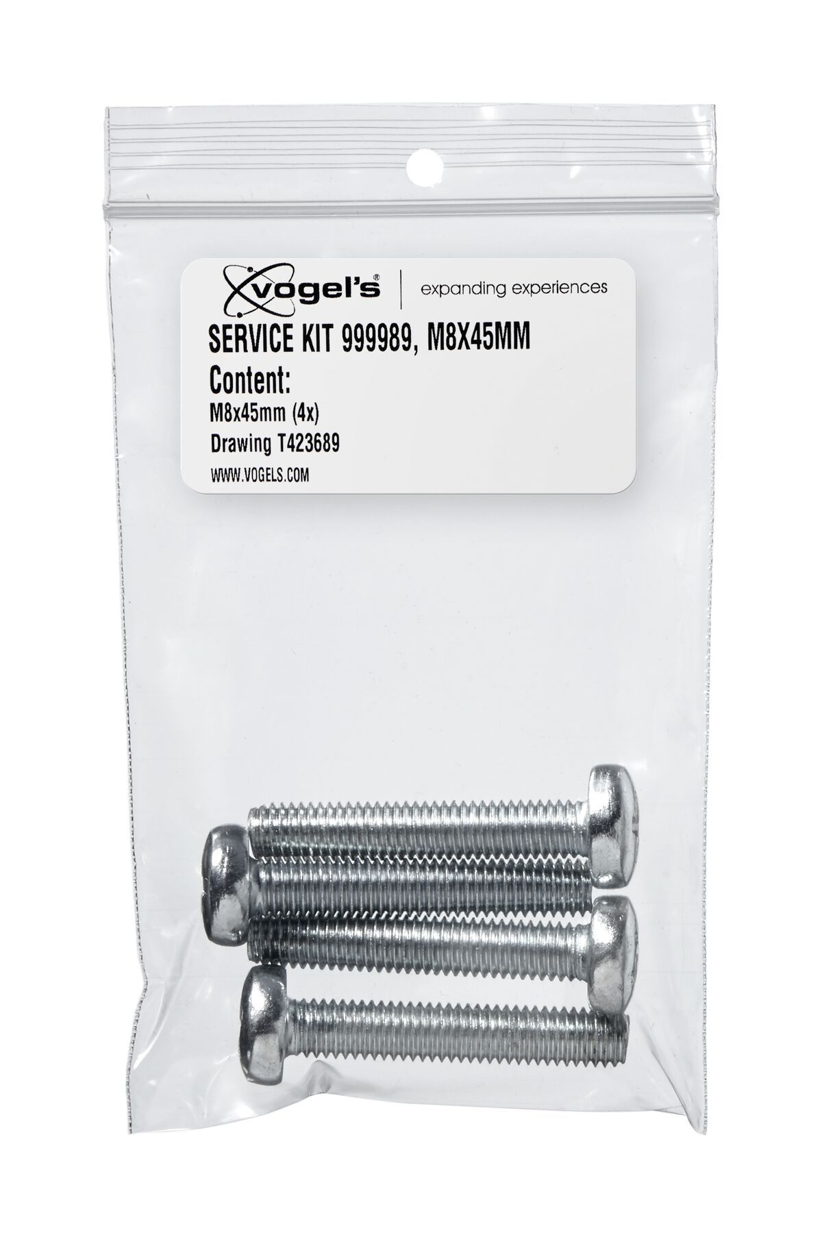 Vogel's Service Kit - M8 bolts (45 mm) - Product