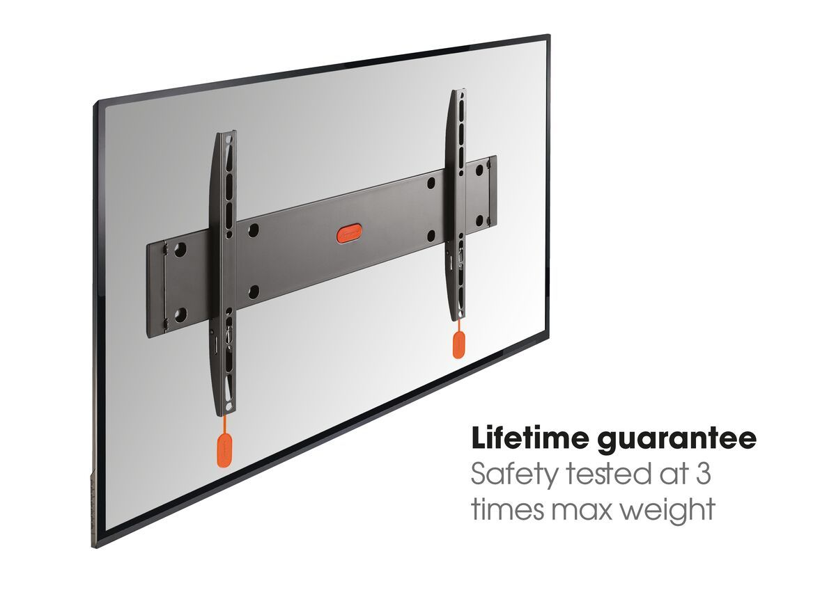 Vogel's BASE 05 L Fixed TV Wall Mount - Suitable for 40 up to 80 inch TVs up to 70 kg - USP