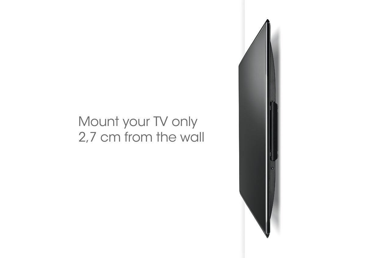 Vogel's BASE 05 S Support TV Fixe - Convient aux téléviseurs de 19 à 43 pouces jusqu'à 20 kg - USP