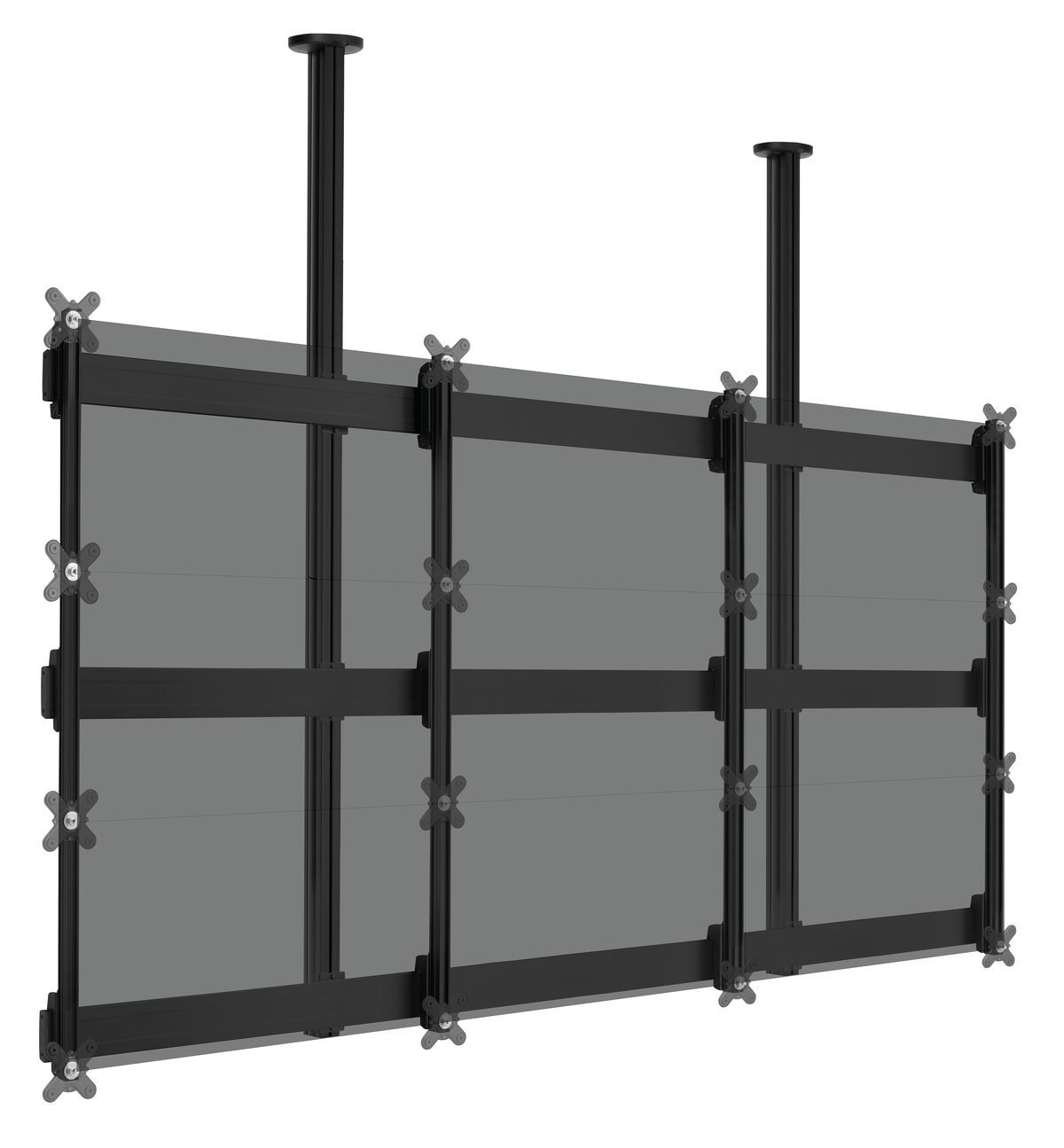 Vogel's CVWB3355 UniSee video wall ceiling solution 3x3 - Application