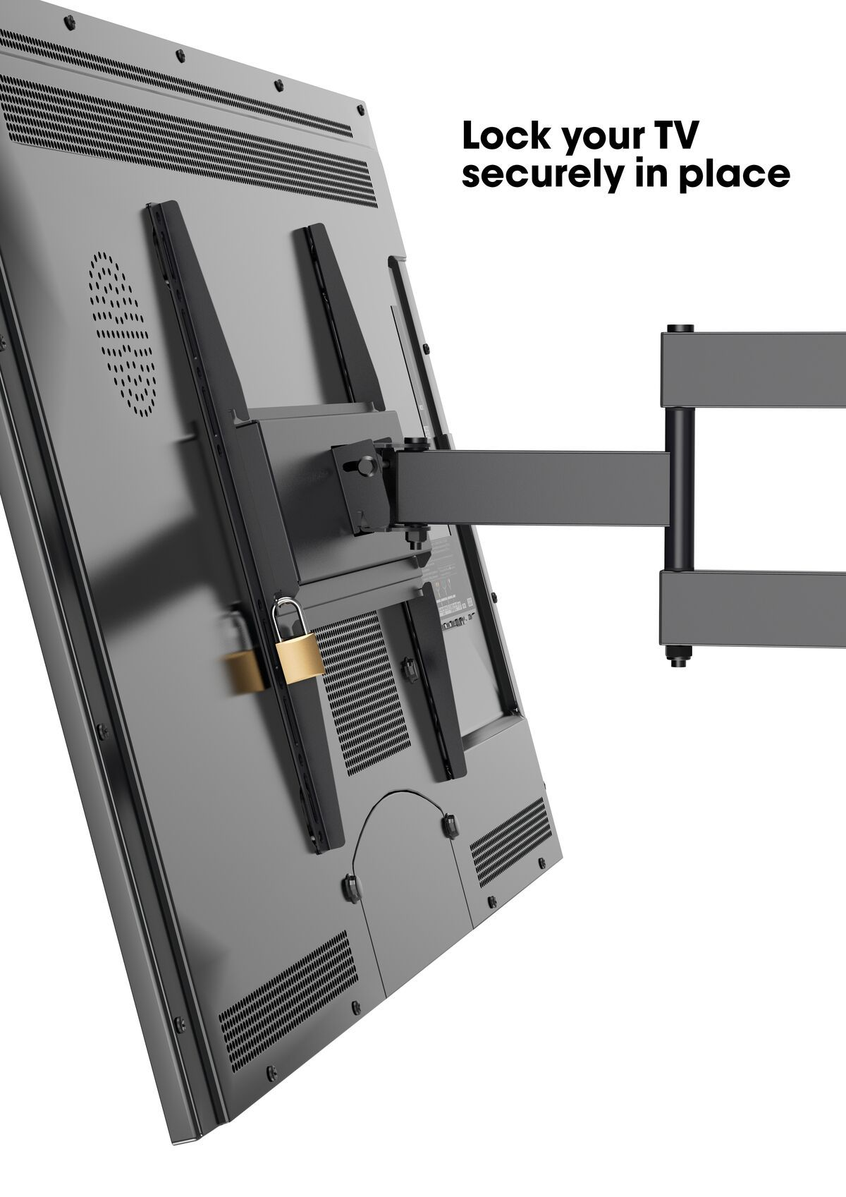 Vogel's MA 3040 (A1) Full-Motion TV Wall Mount - Suitable for 32 up to 55 inch TVs - Full motion (up to 180°) - Tilt up to 10° - USP
