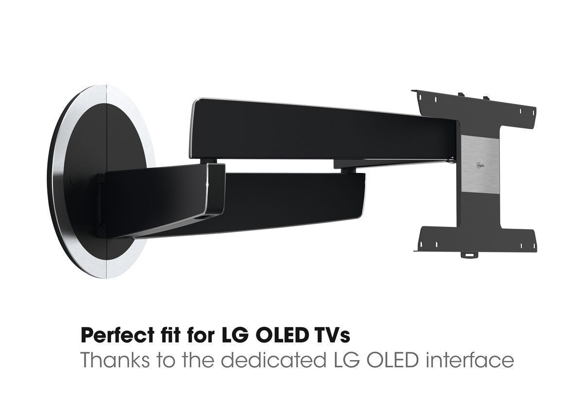 Vogel's NEXT 7346 Full-Motion OLED TV Wall Mount - Suitable for 40 up to 65 inch TVs up to 30 kg - Motion (up to 120°) - USP