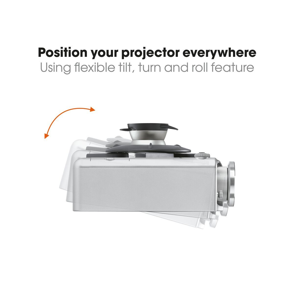 Vogel's EPC 6545 Projector Ceiling Mount - Max. weight load: 10 - Max. weight load: USP